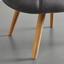 Křeslo Alison - šedá, Moderní, dřevo/textil (92/79/76cm) - Modern Living