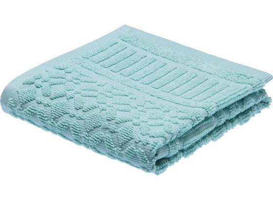 Ručník Pro Hosty Carina - zelená, Romantický / Rustikální, textil (30/50cm) - Mömax modern living