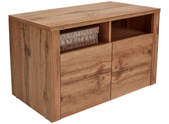 Lavica Do Predsiene/šatníka Simple - farby dubu, Moderný, kompozitné drevo (90cm)
