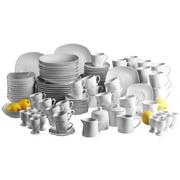 Kombiservice Cosmo 124-Teilig Weiß - Weiß, Basics, Keramik (43/38/38,5cm)
