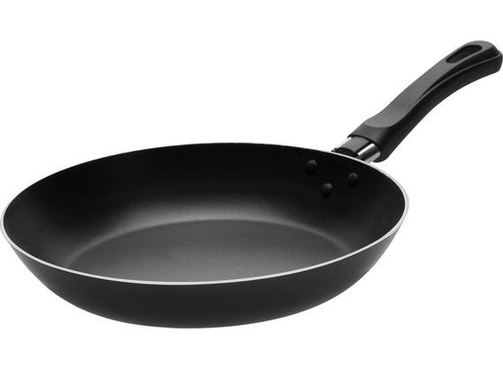 Panvica Leijla*cenový Trhák* Ø 23 Cm - čierna/strieborná, kov/plast (23/4,2cm) - Based