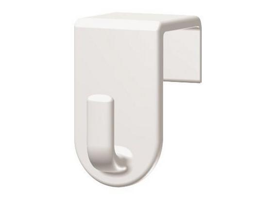 Háček Fred - bílá, umělá hmota (2/3,5/2cm) - Mömax modern living