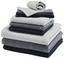 Ručník Pro Hosty Anna - černá, textilie (30/50cm) - Mömax modern living
