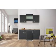 Küchenblock G-150-1009-000-shadow - Eichefarben/Grau, MODERN, Holzwerkstoff (150cm)