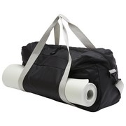 Sporttasche Gym Club - Schwarz/Grau, Kunststoff (58/20/26cm) - Homezone