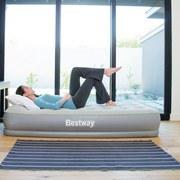 Bestway Luftbett Restira Premium 67455 - Grau, KONVENTIONELL, Kunststoff (191/97/38cm) - BESTWAY