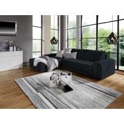 Wohnlandschaft L-form Adria 213x308cm - Schwarz, MODERN, Textil (213/308cm) - Luca Bessoni