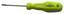 Csavarhúzó Klemens - Sárga/Zöld, konvencionális, Műanyag/Fém