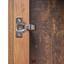 Vitrine Ontario - Dunkelgrau/Eichefarben, Trend, Holzwerkstoff (105/159/41,5cm) - Ombra