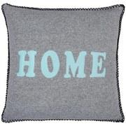 Zierkissen Home - Blau/Grau, MODERN, Textil (45/45cm) - Luca Bessoni