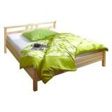 Bett Merci 140x200 cm - Kieferfarben, KONVENTIONELL, Holz (140/200cm) - Carryhome