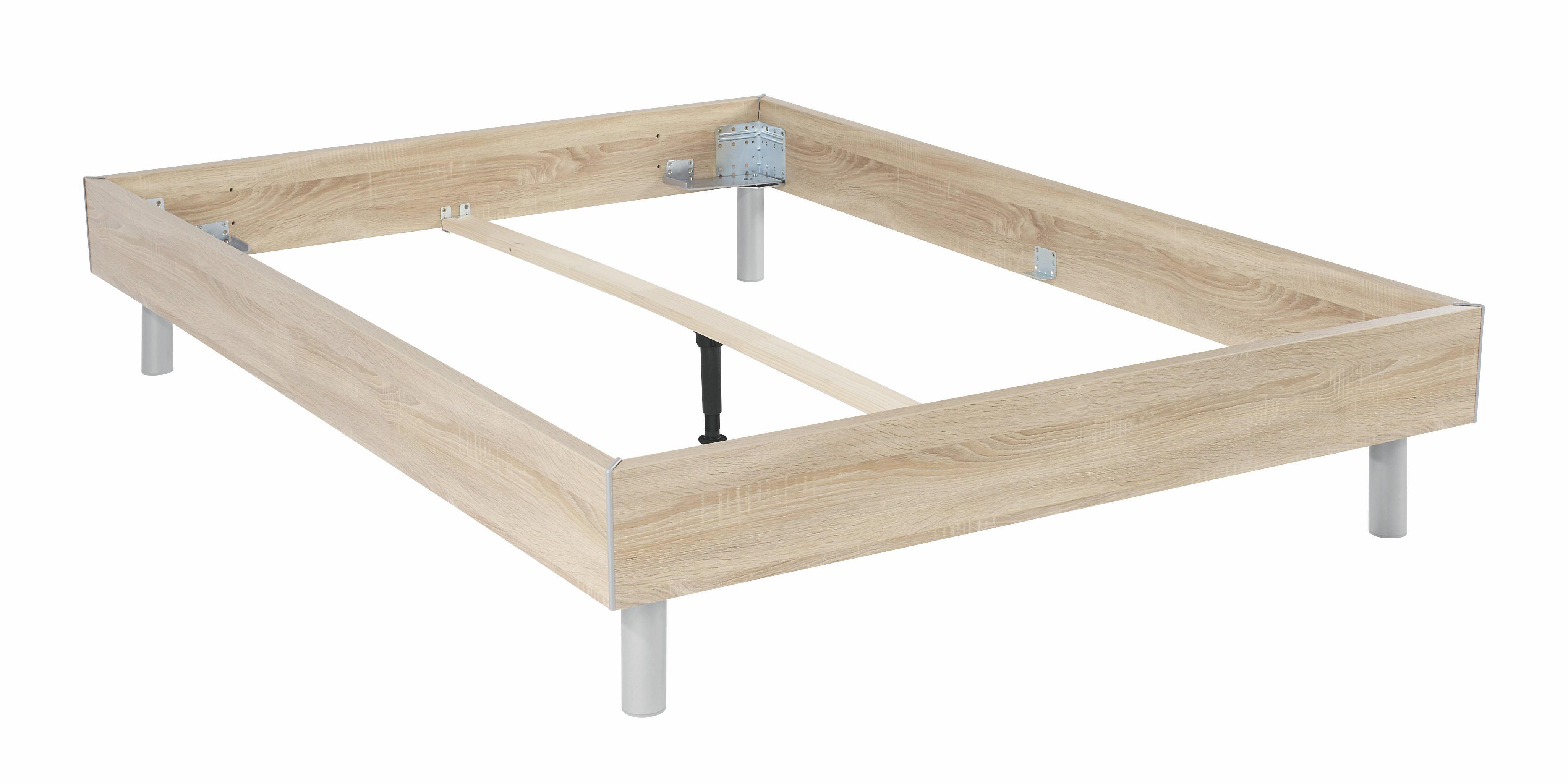 Futónová Posteľ Belia - Konvenčný, drevo (140/200cm)