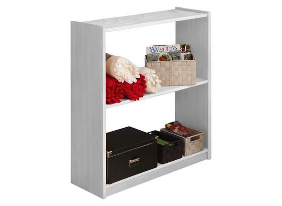 Bücherwand Moni B: 80,5 cm Weiß - Weiß, Basics, Holz (80,5/92/31cm) - Livetastic