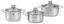 Kochtopfset Diadem Plus 5-teilig inkl. Deckel - Silberfarben, MODERN, Glas/Metall - WMF