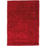 Hochflorteppich Amy 120x170 cm - Rot, KONVENTIONELL, Textil (120/170cm) - Luca Bessoni