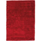 Hochflorteppich Amy - Rot, KONVENTIONELL, Textil (120/170cm) - LUCA BESSONI