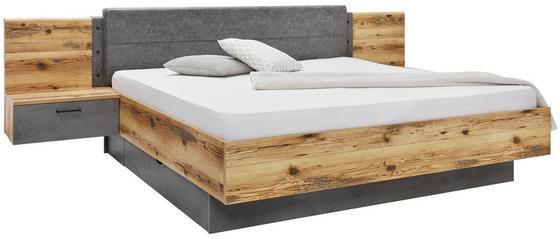 Bettanlage mit Nachtkästchen