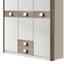 3- Dílny Pokoj Pro Miminka Jalta - bílá/barvy dubu, Moderní, kompozitní dřevo (198/150/300cm)