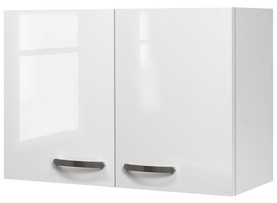 Horná Kuchynská Skrinka Alba  H 80 - biela, Moderný, kompozitné drevo (80/54,8/32cm)