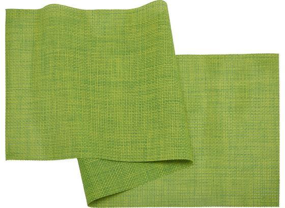 Ubrus 'běhoun' Na Stůl Stefan - zelená, umělá hmota (45/150cm) - Mömax modern living