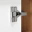 Vitrína Kashmir New - farby dubu/biela, Moderný, kompozitné drevo (100/120/41cm) - James Wood