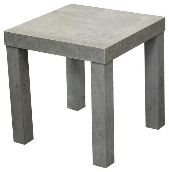 Kisasztal Normen - Szürke, modern, Faalapú anyag (39/40/39cm)