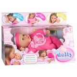 Spielpuppe My Dolly Sucette - Beige/Rosa, Kunststoff (37cm)