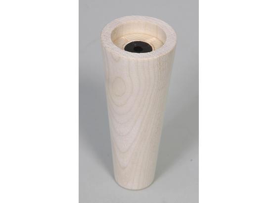 Fußset Möbelfuß H: 13 cm Fichte - Fichtefarben, Basics, Holz (13cm)