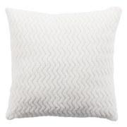 Zierkissen Talisha - Weiß, MODERN, Textil (40/40cm) - Luca Bessoni