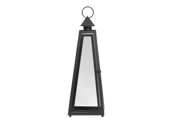 Lampáš Philip - čierna/číre, kov/sklo (26/26/73cm) - Mömax modern living
