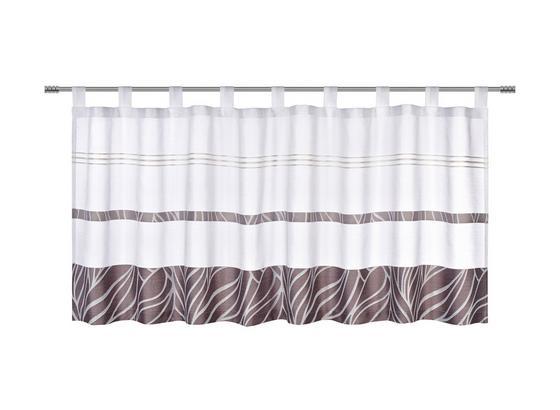 Krátka Záclona Anita - sivá, Konvenčný, textil (50/145cm) - Mömax modern living