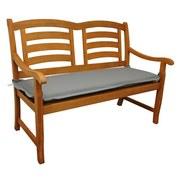 Bankauflage Premium T: 120 cm Grau - Grau, Basics, Textil (45/8-9/120cm) - MID.YOU