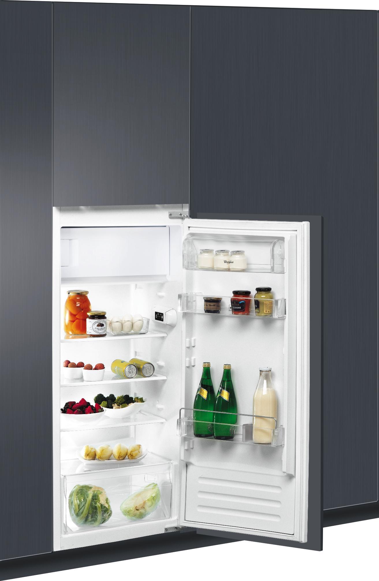 Kühlschrank Mit Gefrierfach Klein : Whirlpool einbau kühlschrank mit gefrierfach arg a online