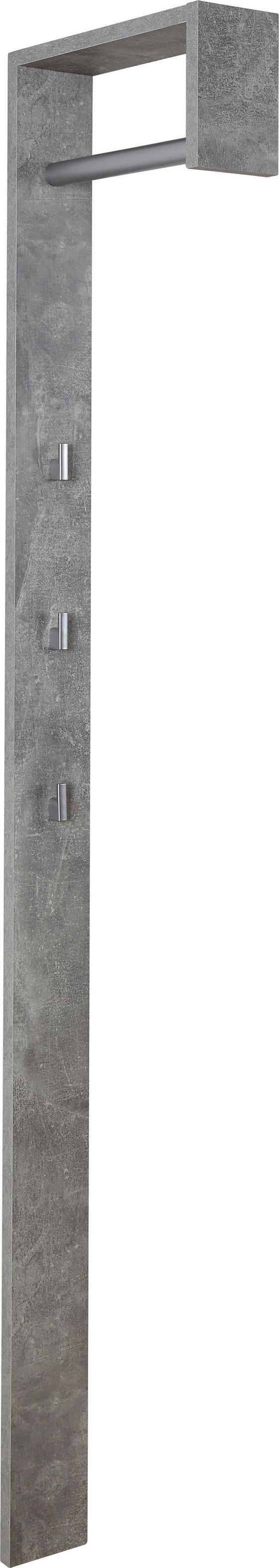 Šatní Panel Senex *cenový Trhák* - šedá, Moderní, dřevo (10/170/33cm)
