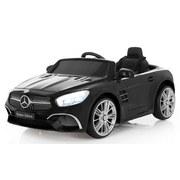 Kinderauto Ride-On Mercedes-Benz Sl 400 Schwarz - Silberfarben/Schwarz, Basics, Kunststoff (108/63/45cm)
