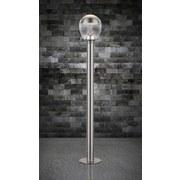 Led Außenleuchte Callisto 11 Watt Edelstahl - Klar/Silberfarben, Basics, Kunststoff/Metall (15/99cm) - Globo