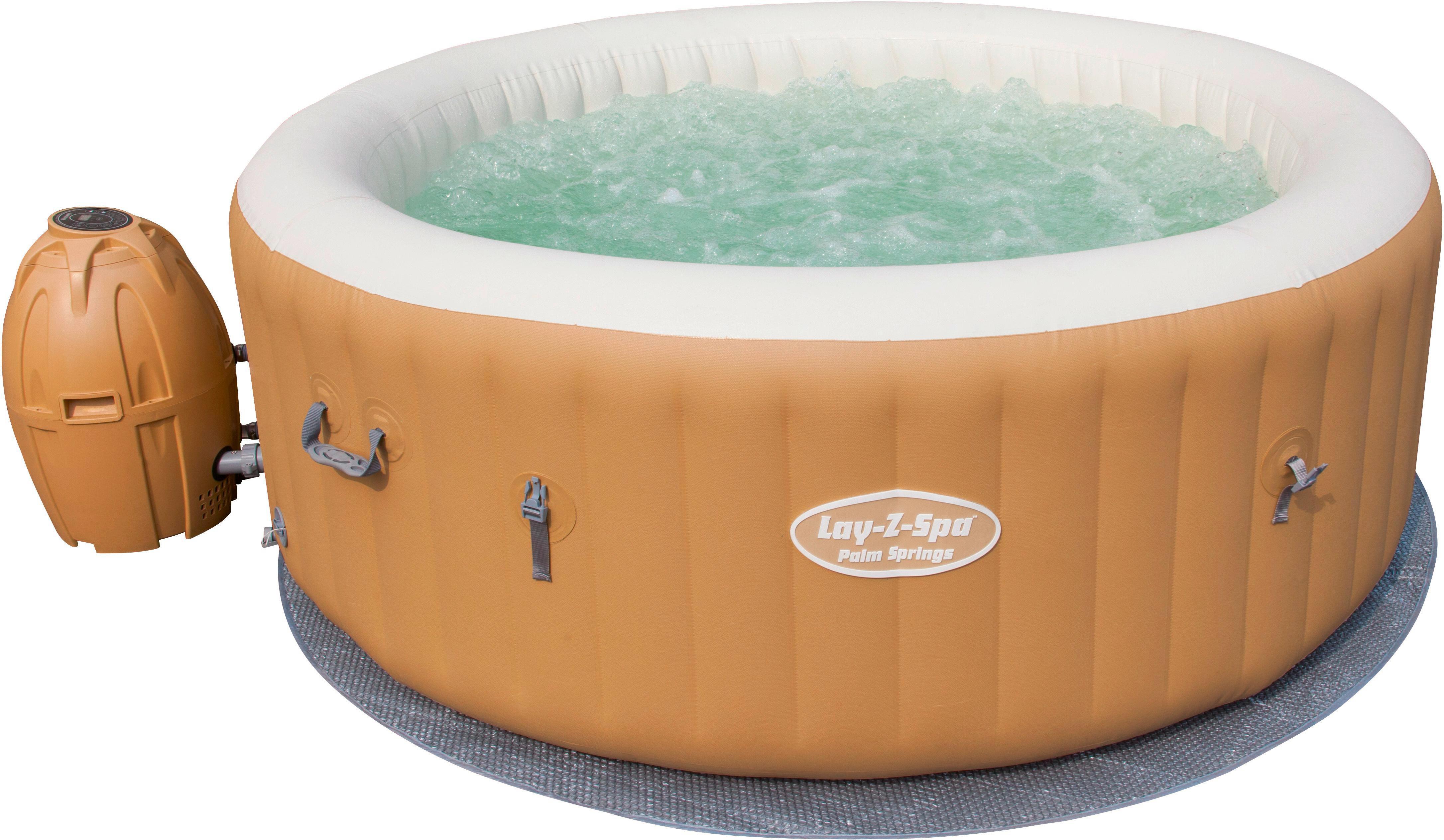 Indoor whirlpool aufblasbar  Bestway Whirlpool Lay-z-spa Palm Springs online kaufen ➤ Möbelix