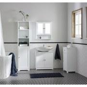 Skřiňka Se Zrcadlem Bianca - bílá, Moderní, kov/dřevěný materiál (56/58/13cm) - MÖMAX modern living