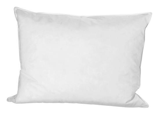 Kopfpolster Flo 70x90cm - Weiß, KONVENTIONELL, Textil