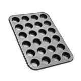 Muffinform 24 Stück - Schwarz, KONVENTIONELL, Metall (26,5/38,5/3cm) - Zenker