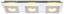 LED-Wandleuchte Anne - Nickelfarben, MODERN, Kunststoff/Metall (50/16/5cm)