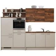 Vstavaná Kuchyňa Santiago/colorconcept - farby dubu/piesková (270/156cm)