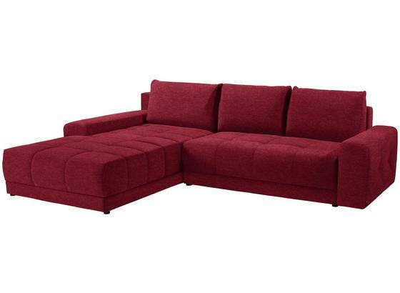 Sedacia Súprava Adria - červená, Moderný, textil (213/308cm) - Luca Bessoni
