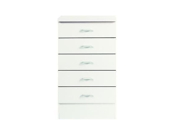 Kuchyňská Spodní Skříňka Speed - bílá, Moderní, kompozitní dřevo (50/85/47cm)