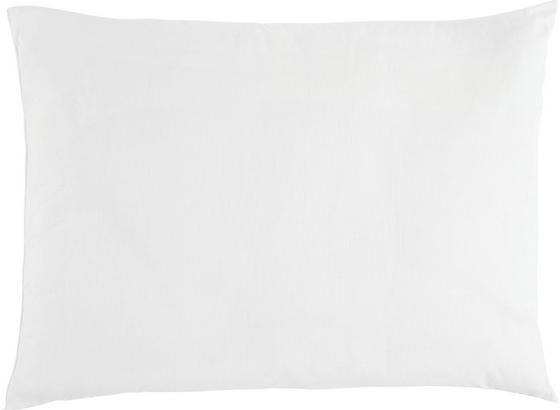 Kopfpolster Schlaf-Gut Utah 70x90 cm - Weiß, KONVENTIONELL, Textil (70/90cm) - FAN