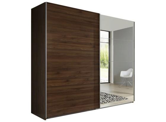 schwebet renschrank ernie 225 cm nussbaum dekor online. Black Bedroom Furniture Sets. Home Design Ideas