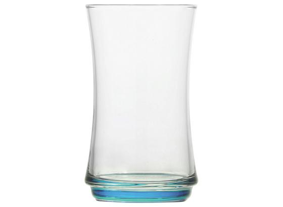Longdrinkglas Edward - Blau/Pink, KONVENTIONELL, Glas (0,365l) - Ombra