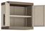 Kunststoffhängeschrank Excellence Cabinet - Sandfarben/Grau, MODERN, Kunststoff (65/56,5/39cm) - Keter