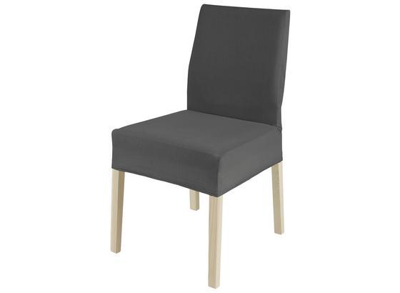 Přehoz Na Židli Hanna -ext- - antracitová, textil (47/47/67cm) - Mömax modern living