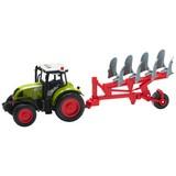 Kindertraktor Farmland - Rot/Weiß, Basics, Kunststoff (39/10/12,5cm)